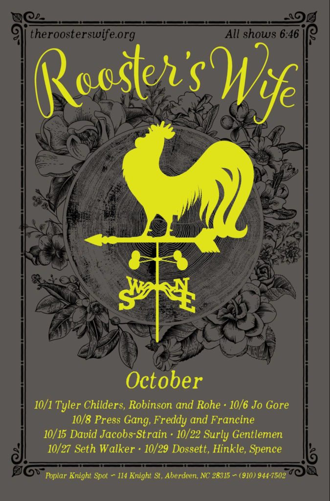 The Rooster's Wife October poster